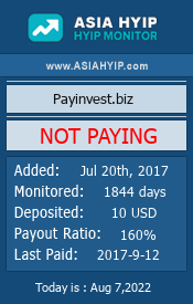 www.asiahyip.com - hyip pay invest ltd