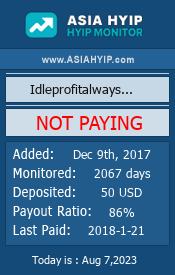 ссылка на мониторинг http://www.asiahyip.com/details/149/