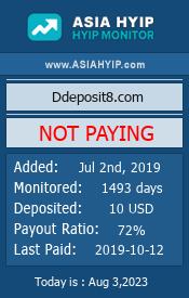 ссылка на мониторинг https://www.asiahyip.com/details/234/